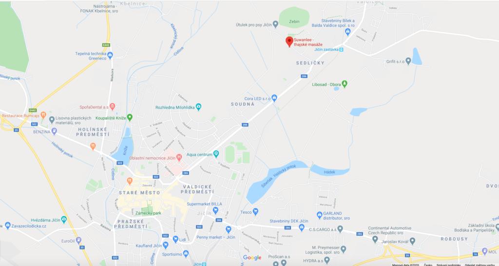 Suwanlee mapa